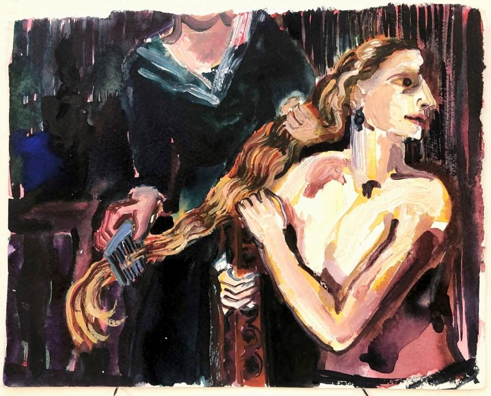 Life on Venus II   The Human, Live Auction - Lot 24, Alice MacDonald, After Artemisia
