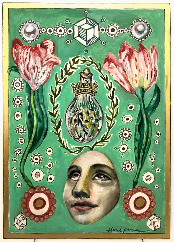 Hazel Florez, Venus and the Alchemical Flask, The Auction Collective