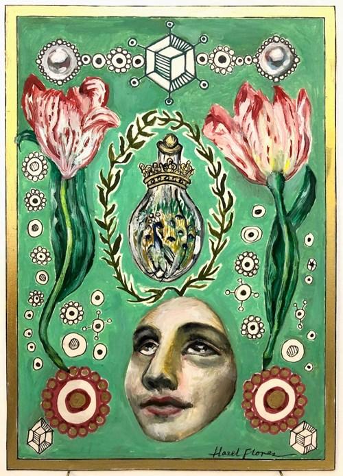 Life on Venus III | The Organic, Timed Auction - Lot 50, Hazel Florez, Venus and the Alchemical Flask