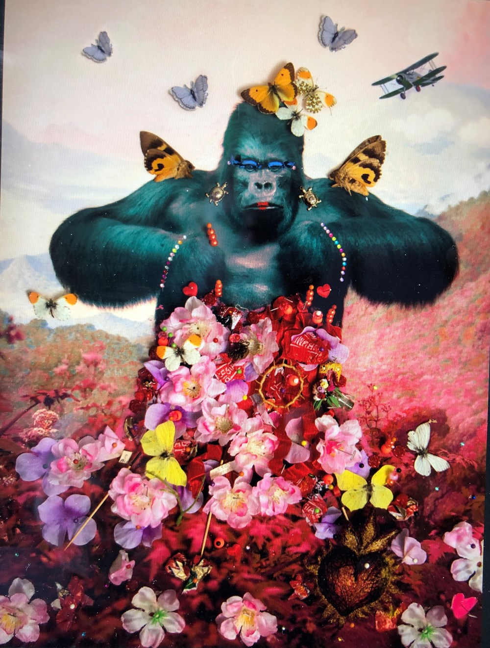 Terrence Higgins Trust, The Timed Auction 2021 - Lot 4, B-Brown & Scheinmann, Adored & Adorned: Grayson the Gorilla