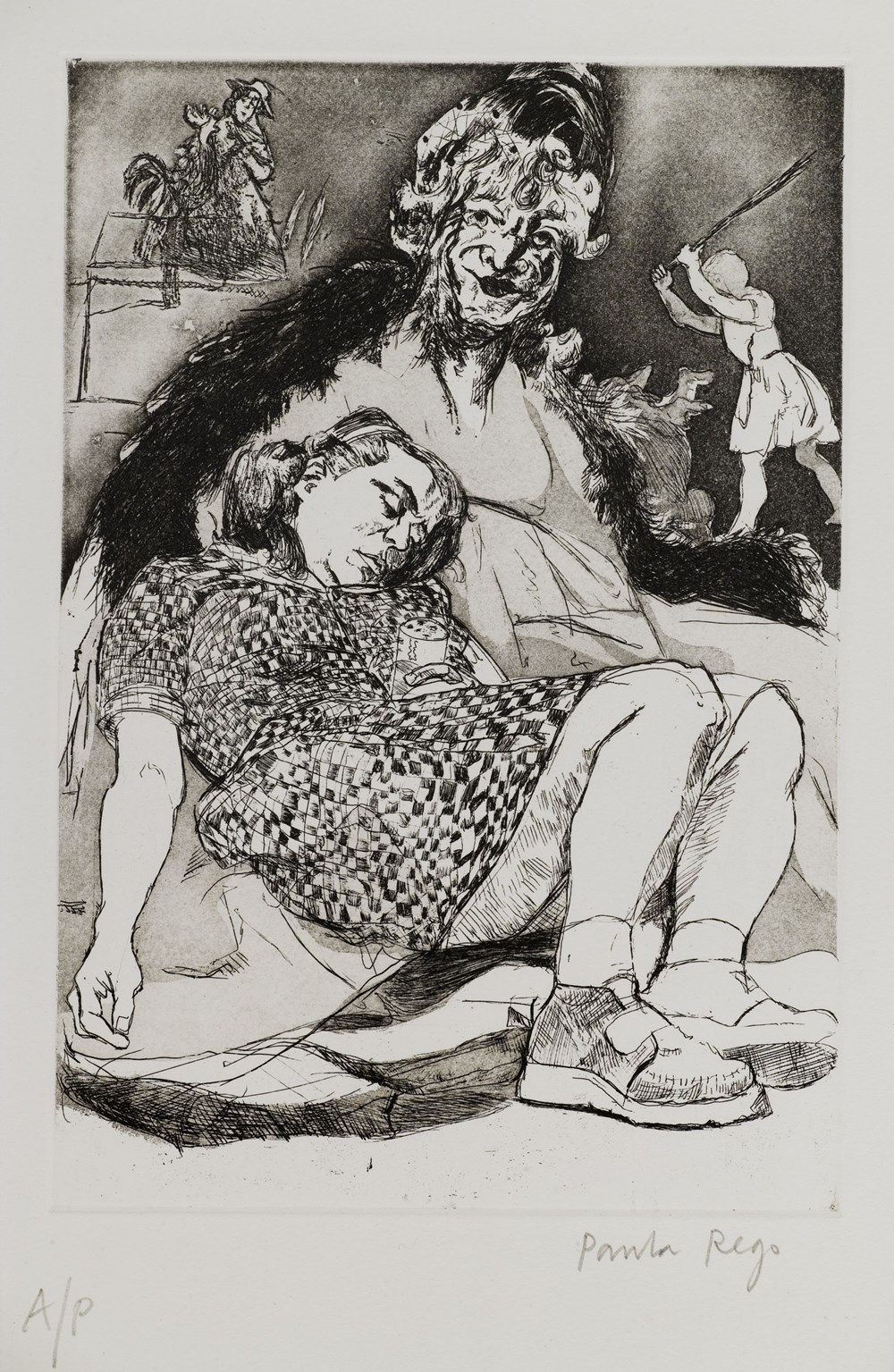 Terrence Higgins Trust, The Timed Auction 2021 - Lot 22, Paula Rego, Misericordia