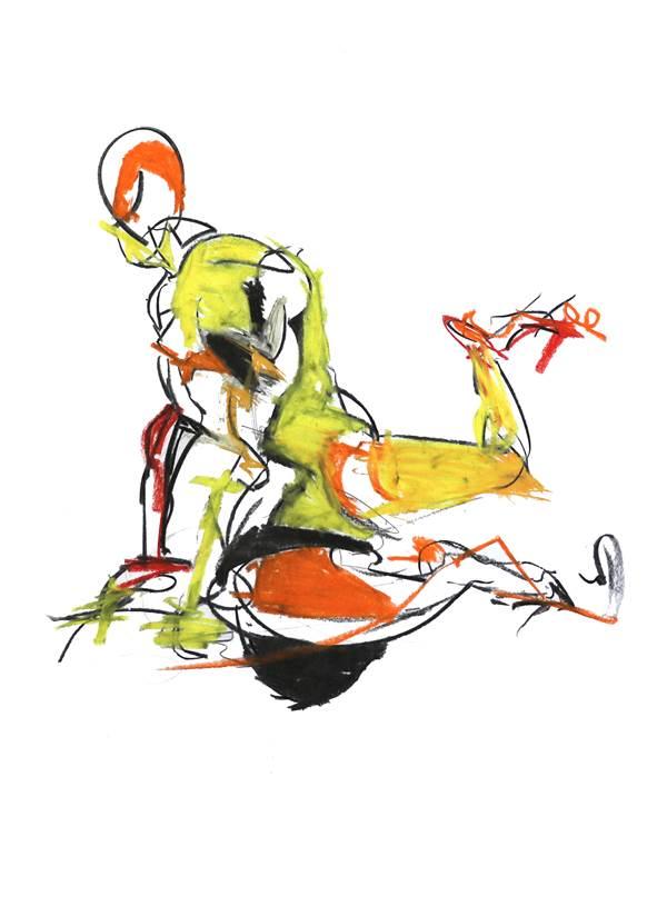 Lee Kay-Barry, Kneeling Figure II, The Auction Collective