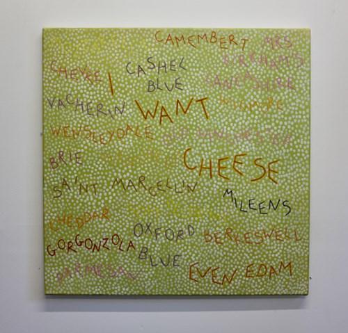 Studio Sale   Rachel McDonnell - Lot 29, Rachel McDonnell, I Want Cheese